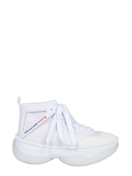 Alexander Wang - A1 High Sneakers In Mesh And Leather