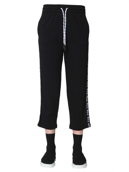 Mcq Alexander Mcqueen - Jogging Trousers With Logo Side Band