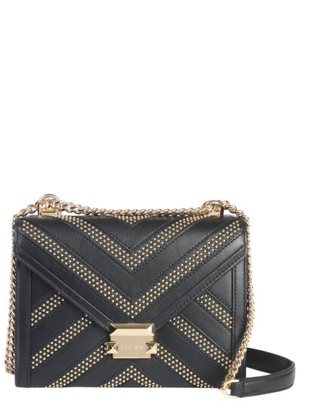 Michael By Michael Kors - Whitney Studded Leather Shoulder Bag