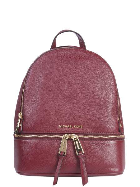 Michael By Michael Kors - Medium Rhea Bottled Leather Zip Backpack