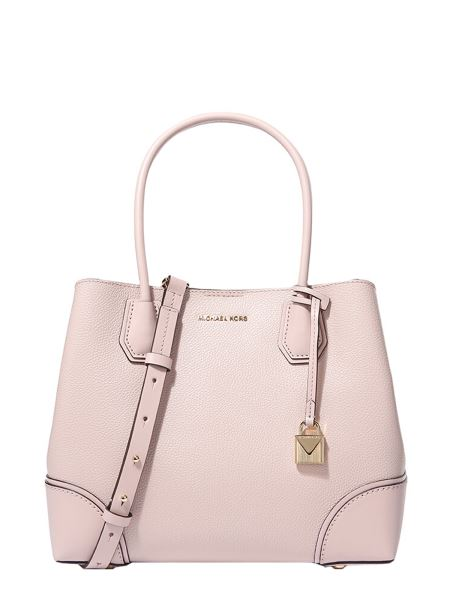 Michael By Michael Kors - Mercer Media Gallery Tote Bag In Hammered Leather