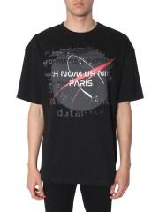 IH NOM UH NIT - T-SHIRT CON LOGO E STAMPA NASA