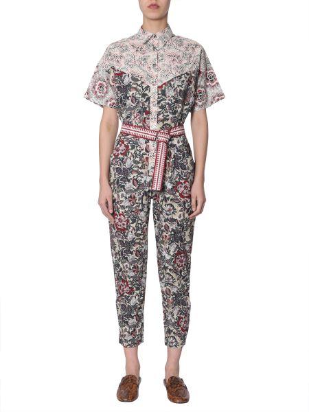 """Isabel Marant Étoile - """"lindsie"""" Floral-print Cotton Jumpsuit"""