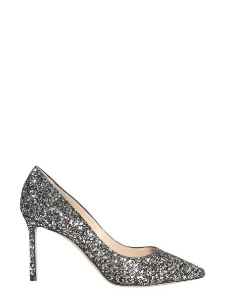Jimmy Choo - Romy Décolleté Pumps In Glitter Fabric