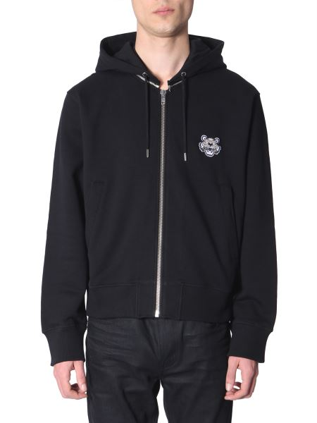 Kenzo - Cotton Zip-up Hooded Sweatshirt