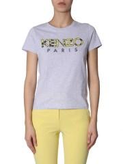 KENZO - T-SHIRT GIROCOLLO OVERSIZE