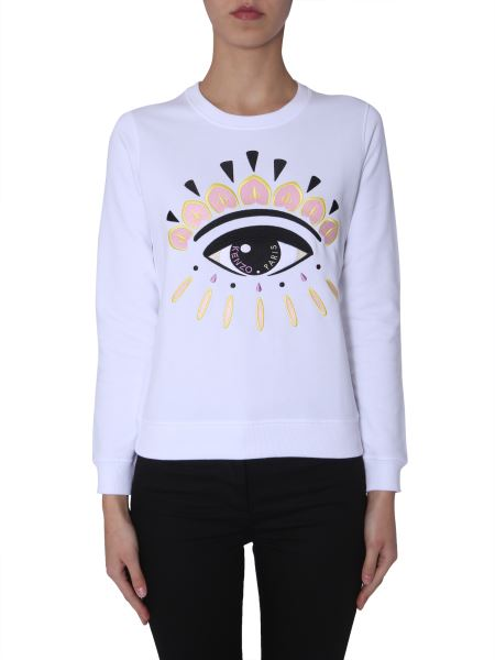 Kenzo - Sweatshirt In Cotton With Embroidery