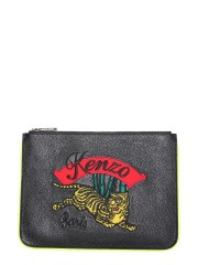 """KENZO - CLUTCH A4 """"JUMPING TIGER"""""""