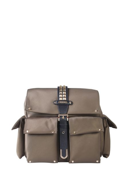 Michael By Michael Kors - Medium Olivia Satin Backpack