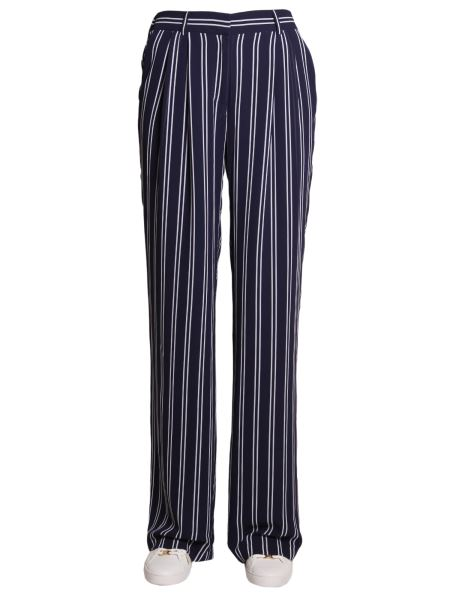 Michael By Michael Kors - Large Striped Trousers