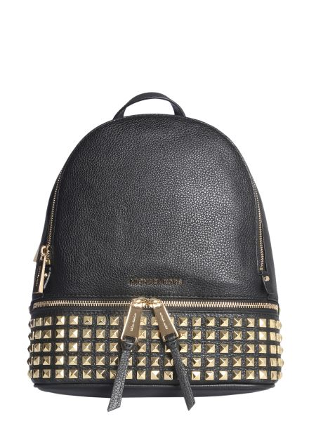 Michael By Michael Kors - Medium Rhea Leather Backpack With Studs
