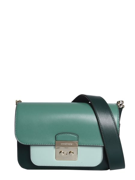 Michael By Michael Kors - Sloan Bag In Colour Block Leather