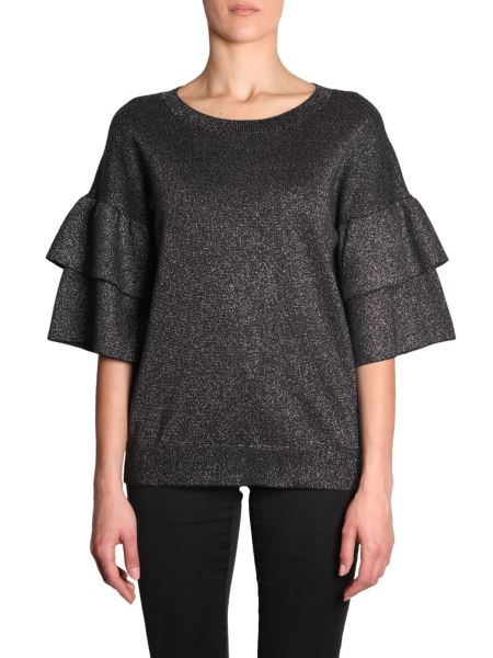 Michael By Michael Kors - Maglia In Lurex Con Ruches