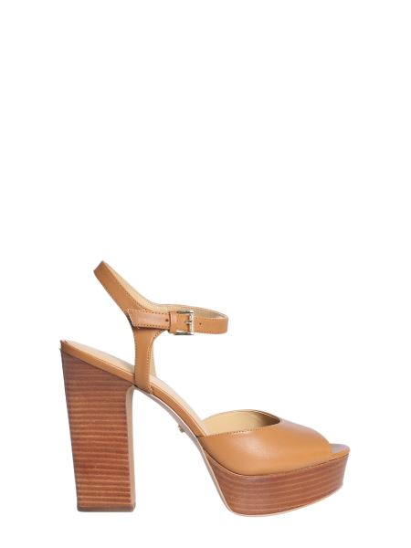 Michael By Michael Kors - Platform Bennet Leather Sandals