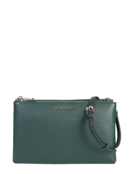 Michael By Michael Kors - Adele Hammered Leather Shoulder Bag