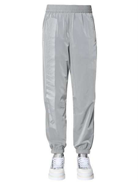 Alexanderwang.t - Jogging Trousers In Nylon With Reflector Print