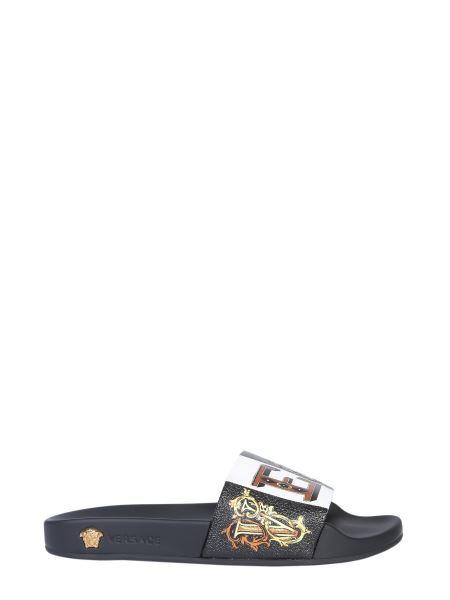 Versace - Zeus Printed Slide Sandals