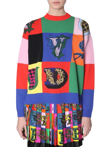 Versace - Crew Neck Sweater