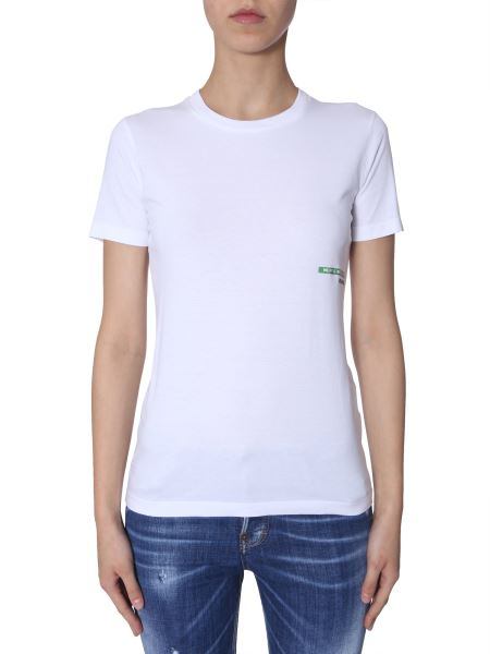 Dsquared - Mert & Marcus 1994 X Dsquared Printed Cotton Crewneck T-shirt