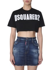 DSQUARED - T-SHIRT CROPPED