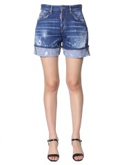 DSQUARED - SHORT IN DENIM