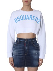DSQUARED - FELPA CROPPED