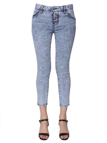 Dsquared - Cool Girl Fit Jeans In Denim Stretch