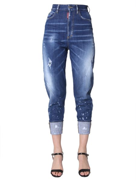 Dsquared - Sassoon 80's Fit Jeans In Denim Stretch