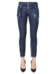 DSQUARED - JEANS RUNWAY STRAIGHT CROPPED