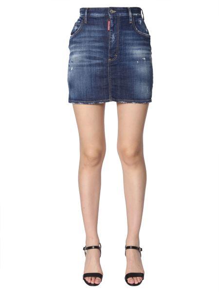 Dsquared - Denim Short Skirt
