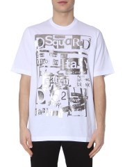 DSQUARED - T-SHIRT SLOUCH FIT