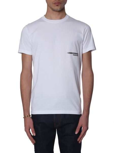 Dsquared - T-shirt In Cotone Slim Fit In Co-lab Mert & Marcus 1994