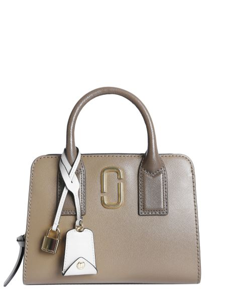 Marc Jacobs - Little Big Shot Saffiano Leather Tote Bag