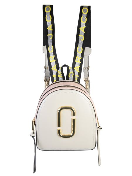 Marc Jacobs - Pack Shot Strap Saffiano Leather Backpack