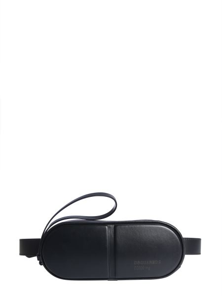 Dsquared - Leather Pouch With Logo