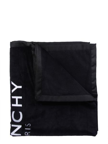 Givenchy - Telo Da Mare In Spugna Di Cotone Con Ricamo Logo