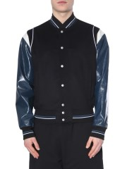 GIVENCHY - BOMBER IN LANA E PELLE