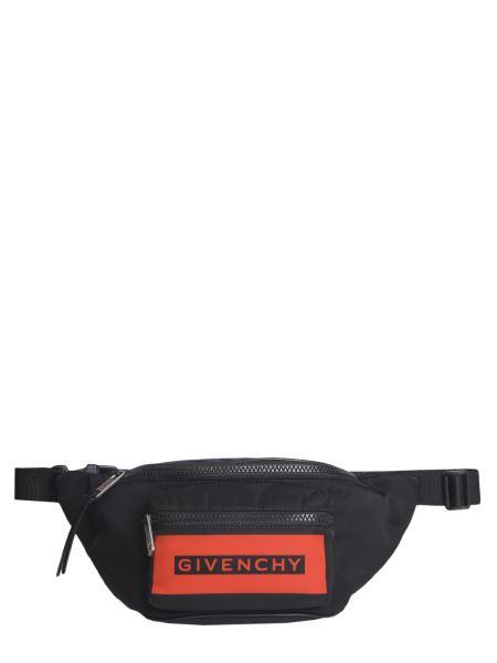 Givenchy - Marsupio Con Logo In Tessuto Tecnico