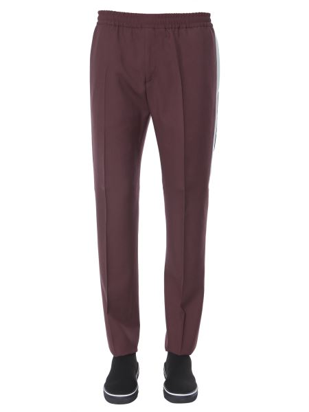Givenchy - Pantalone Jogging In Lana Con Strisce