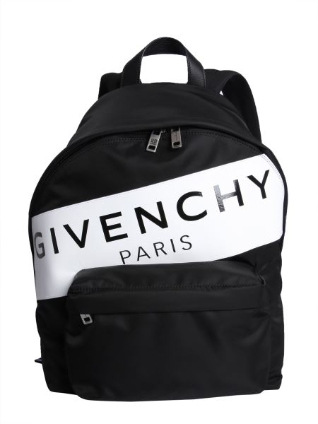 "Givenchy - Zaino ""givenchy Paris"" In Pelle"