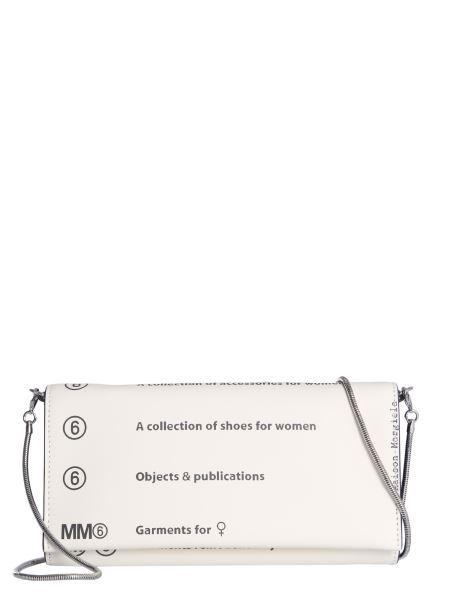 Mm6 Maison Margiela - Mini Leather Bag With Shoulder Chain