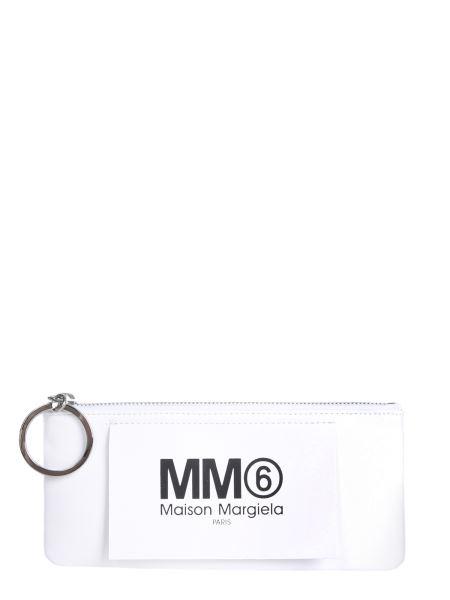 Mm6 Maison Margiela - Portafoglio Con Tirazip Oversize