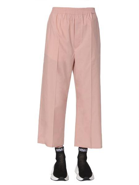 Mm6 Maison Margiela - Pantalone Cropped