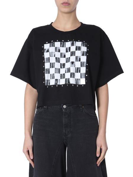 Mm6 Maison Margiela - T-shirt Cropped