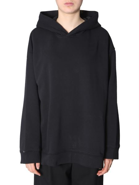 Mm6 Maison Margiela - Oversize Fit Hooded Sweatshirt