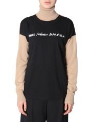 MM6 MAISON MARGIELA - MAGLIA A COLLO ALTO