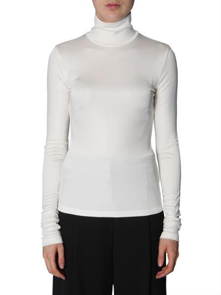 Mm6 Maison Margiela - Turtleneck Viscose Sweater
