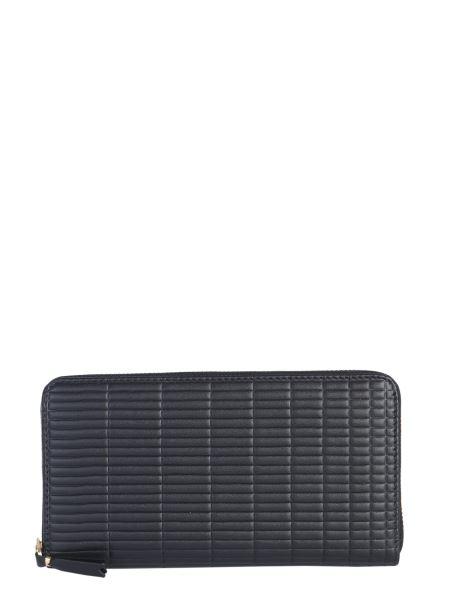 Comme Des Garcons Wallet - Zip Around Patent Leather Wallet