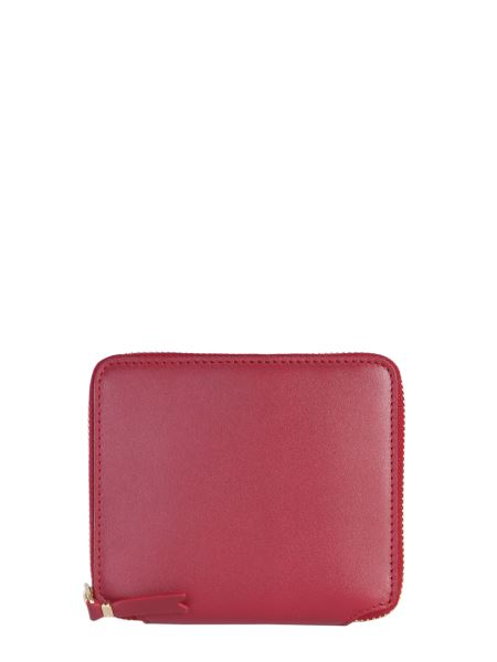 Comme Des Garcons Wallet - Zip Around Leather Wallet