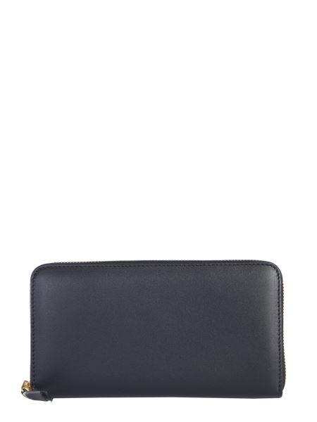 Comme Des Garcons Wallet - Portafoglio Zip Around In Pelle
